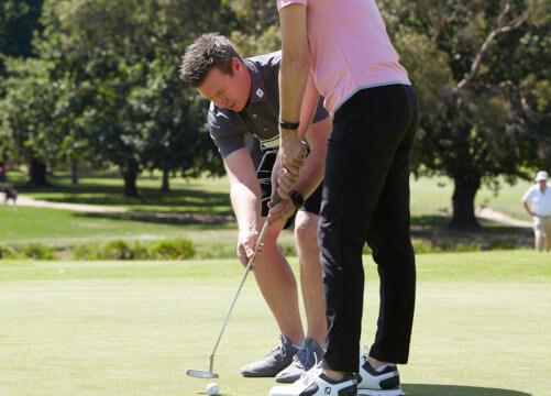 golf courses for beginners Melbourne