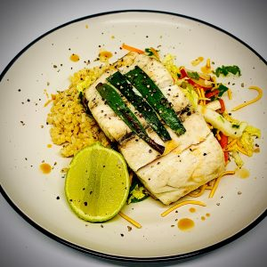 Lemongrass and Coconut Barramundi